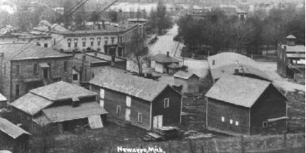 History of the City of Newaygo, Michigan